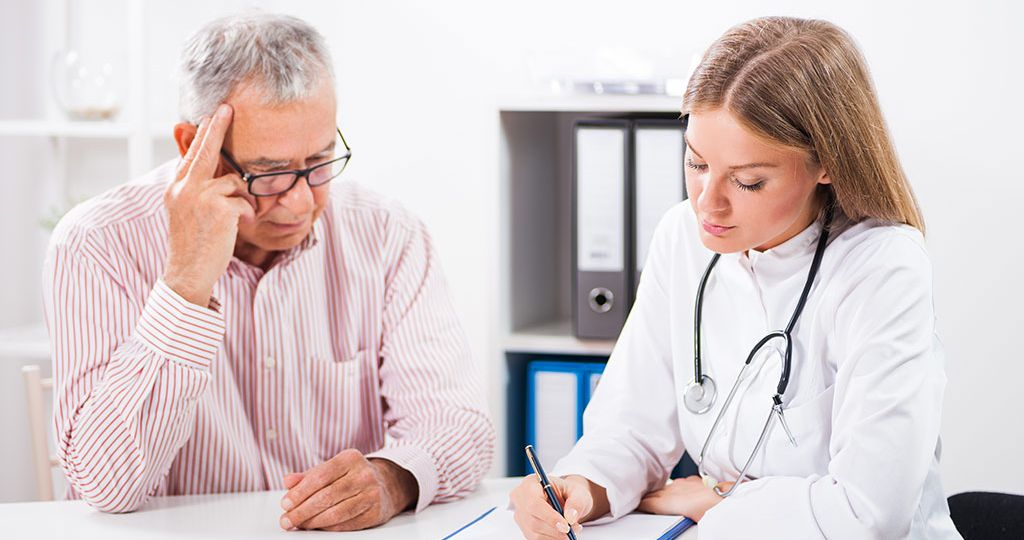 doctor and patient consultation for different types of shoulder replacement blog