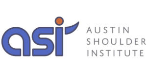 Blue ASI Austin Shoulder Institute Logo on white background