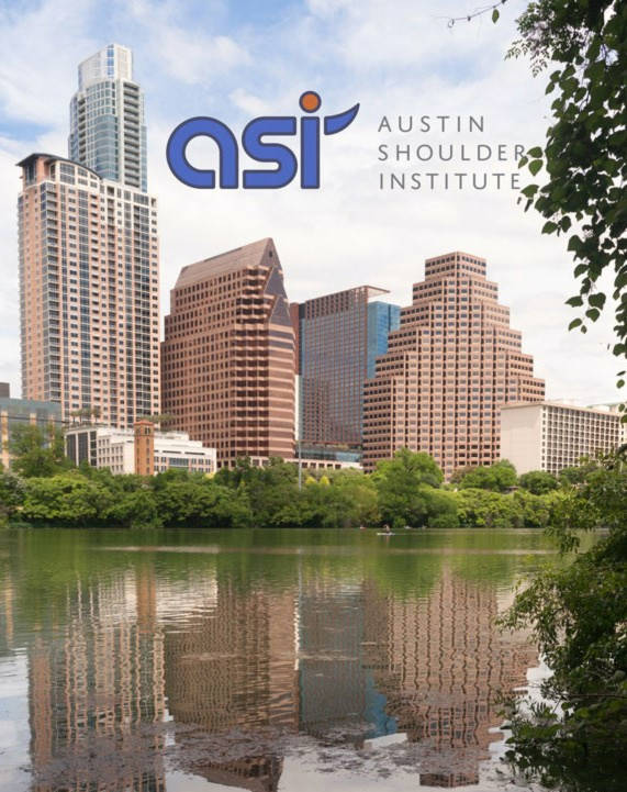 Austin Skyline with Austin Shoulder Institute Logo